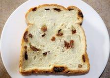φρέσκια σταφίδα ψωμιού Στοκ Εικόνα