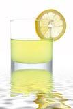φρέσκια φέτα λεμονιών χυμ&omicron στοκ εικόνα με δικαίωμα ελεύθερης χρήσης