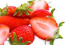 φρέσκια φράουλα ομάδας Στοκ φωτογραφίες με δικαίωμα ελεύθερης χρήσης