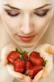 Φρέσκια φράουλα Στοκ εικόνες με δικαίωμα ελεύθερης χρήσης