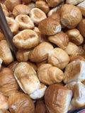 Φρέσκοι καυτοί ρόλοι ψωμιού Στοκ Εικόνες