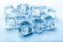 Φρέσκοι κύβοι πάγου Στοκ Εικόνες