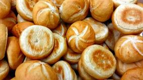 φρέσκοι ρόλοι ψωμιού Στοκ Εικόνες