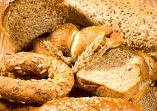 φρέσκοι ρόλοι ψωμιού Στοκ φωτογραφίες με δικαίωμα ελεύθερης χρήσης