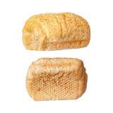 Φρέσκοι ρόλοι ψωμιού που απομονώνονται στο άσπρο υπόβαθρο Στοκ φωτογραφία με δικαίωμα ελεύθερης χρήσης