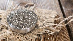 Φρέσκοι σπόροι Chia Στοκ εικόνες με δικαίωμα ελεύθερης χρήσης