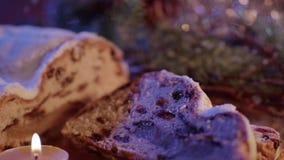 Φρέσκος από το αρτοποιείο Χριστουγέννων - ο παραδοσιακός απόθεμα βίντεο