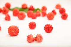 Φρέσκος εύγευστος αυξήθηκε μήλα Στοκ Φωτογραφίες