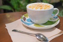 Φρέσκος και καυτός καφές Στοκ Εικόνα