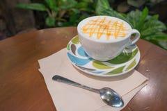 Φρέσκος και καυτός καφές Στοκ εικόνες με δικαίωμα ελεύθερης χρήσης
