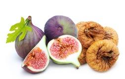 Φρέσκος και ξηρός - σωρός σύκων φρούτων Στοκ φωτογραφία με δικαίωμα ελεύθερης χρήσης