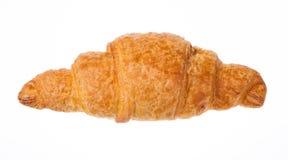 Φρέσκος νόστιμος croissant που απομονώνεται στο άσπρο υπόβαθρο στοκ φωτογραφία με δικαίωμα ελεύθερης χρήσης