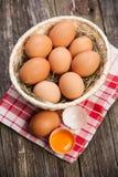 φρέσκος οργανικός αυγών στοκ εικόνα