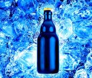 φρέσκος πάγος μπουκαλιώ&n στοκ εικόνα