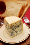φρέσκος πίνακας μπλε τυρ&io Στοκ φωτογραφίες με δικαίωμα ελεύθερης χρήσης