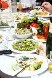 φρέσκος πίνακας τροφίμων νό&s Στοκ φωτογραφία με δικαίωμα ελεύθερης χρήσης