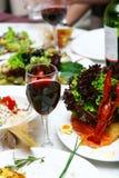 φρέσκος πίνακας τροφίμων νό&s Στοκ Φωτογραφίες