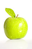 φρέσκος πράσινος μήλων Στοκ εικόνα με δικαίωμα ελεύθερης χρήσης