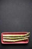 φρέσκος πράσινος σπαραγ&gamm Στοκ Εικόνα