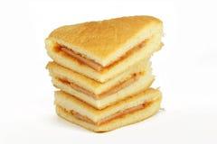 Φρέσκος στενός επάνω σάντουιτς Στοκ εικόνα με δικαίωμα ελεύθερης χρήσης