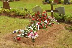 φρέσκος τάφος στοκ εικόνες