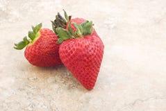 φρέσκος τρύγος φραουλών &a Στοκ φωτογραφία με δικαίωμα ελεύθερης χρήσης