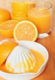 Φρέσκος χυμός από πορτοκάλι Στοκ εικόνες με δικαίωμα ελεύθερης χρήσης