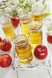 φρέσκος χυμός μήλων Στοκ Εικόνα