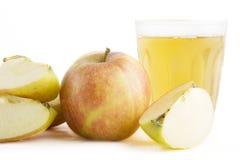 φρέσκος χυμός μήλων στοκ φωτογραφία