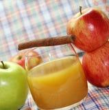 φρέσκος χυμός μήλων μήλων Στοκ εικόνα με δικαίωμα ελεύθερης χρήσης