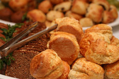 φρέσκος ψωμιού που εξυπηρετείται Στοκ εικόνες με δικαίωμα ελεύθερης χρήσης