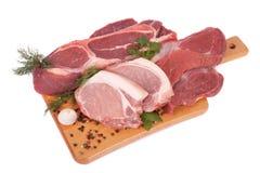 Φρέσκο ακατέργαστο κρέας Στοκ φωτογραφία με δικαίωμα ελεύθερης χρήσης