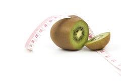 Φρέσκο ακτινίδιο και υγιής έννοια τροφίμων, διάστημα αντιγράφων Στοκ Εικόνες