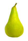 φρέσκο απομονωμένο αχλάδ&iot Στοκ Εικόνα
