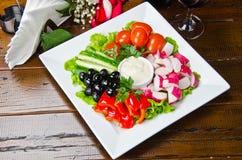φρέσκο λαχανικό σαλάτας Στοκ φωτογραφία με δικαίωμα ελεύθερης χρήσης