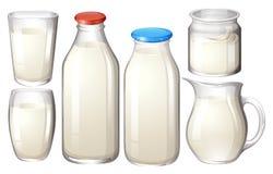 φρέσκο γάλα απεικόνιση αποθεμάτων