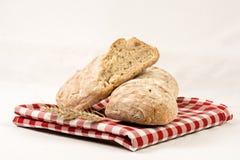 Φρέσκο γούστο του ψωμιού στοκ εικόνες