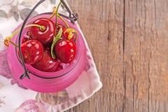 φρέσκο γλυκό κερασιών Στοκ φωτογραφίες με δικαίωμα ελεύθερης χρήσης