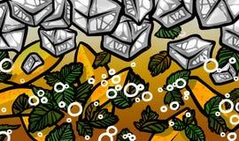 Φρέσκο θερινό μάγκο Mojito Στοκ φωτογραφία με δικαίωμα ελεύθερης χρήσης