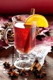 φρέσκο θερμαμένο κρασί Χρι Στοκ φωτογραφίες με δικαίωμα ελεύθερης χρήσης