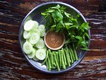 φρέσκο ιαπωνικό λαχανικό σαλάτας τροφίμων στοκ εικόνες με δικαίωμα ελεύθερης χρήσης