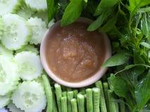 φρέσκο ιαπωνικό λαχανικό σαλάτας τροφίμων στοκ εικόνα με δικαίωμα ελεύθερης χρήσης
