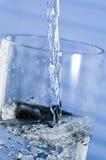 φρέσκο καθαρό ύδωρ Στοκ Φωτογραφία