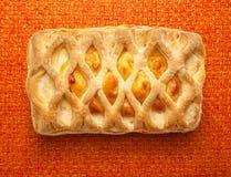 Φρέσκο κουλούρι με το τυρί Στοκ φωτογραφίες με δικαίωμα ελεύθερης χρήσης