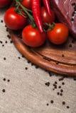 φρέσκο κρέας ακατέργαστ&omicro Στοκ Εικόνες