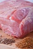 φρέσκο κρέας ακατέργαστ&omicron Στοκ Εικόνα