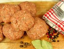 φρέσκο κρέας σφαιρών Στοκ φωτογραφία με δικαίωμα ελεύθερης χρήσης