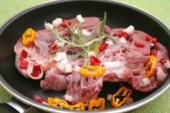 φρέσκο κρέας Στοκ Εικόνες