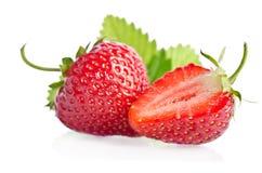 φρέσκο κόκκινο γλυκό φραουλών μούρων Στοκ φωτογραφία με δικαίωμα ελεύθερης χρήσης