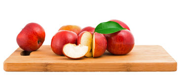 φρέσκο κόκκινο μήλων Στοκ εικόνα με δικαίωμα ελεύθερης χρήσης
